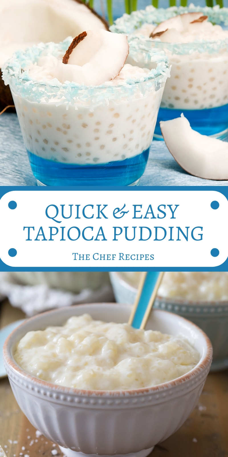 QUICK & EASY TAPIOCA PUDDING