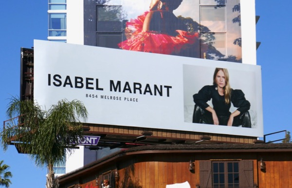 Isabel Marant S18 billboard