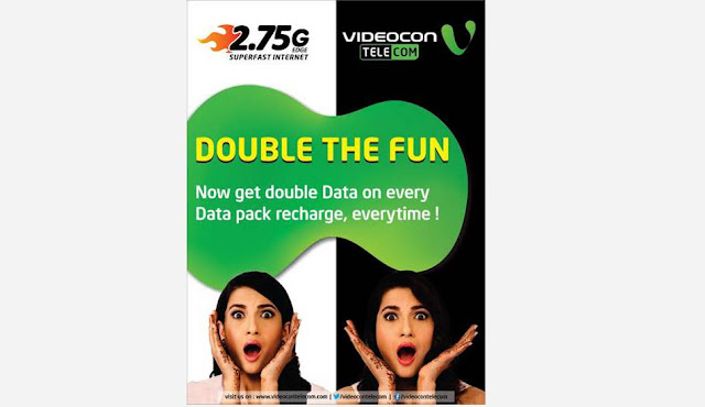 Videocon Offers Double Data Benefit to its Customers