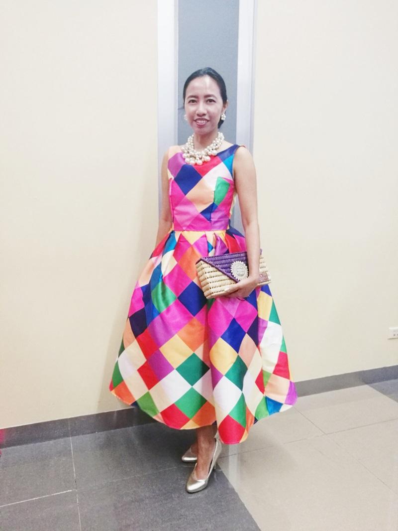 Blair Villanueva party OOTD post