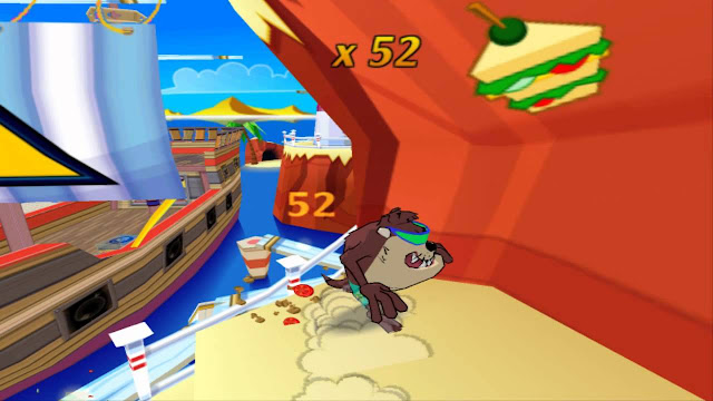Taz Wanted PC Game Free Download Screenshot 1