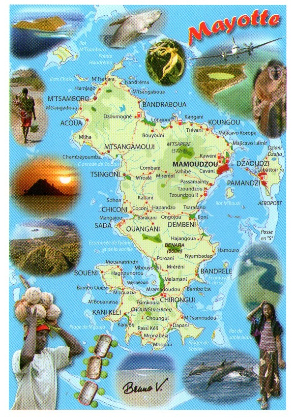 Postcards Journey: Mayotte Island