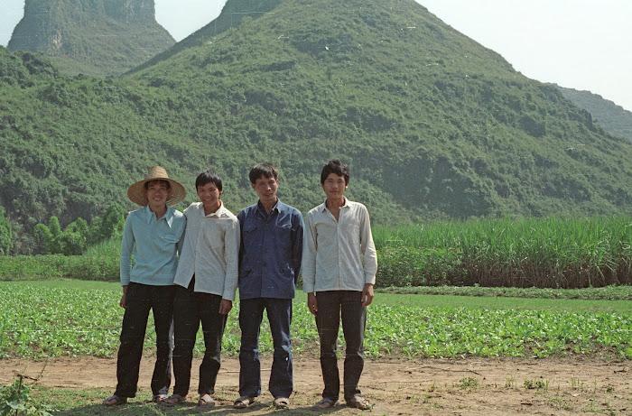 Yangshuo, © L. Gigout, 1990