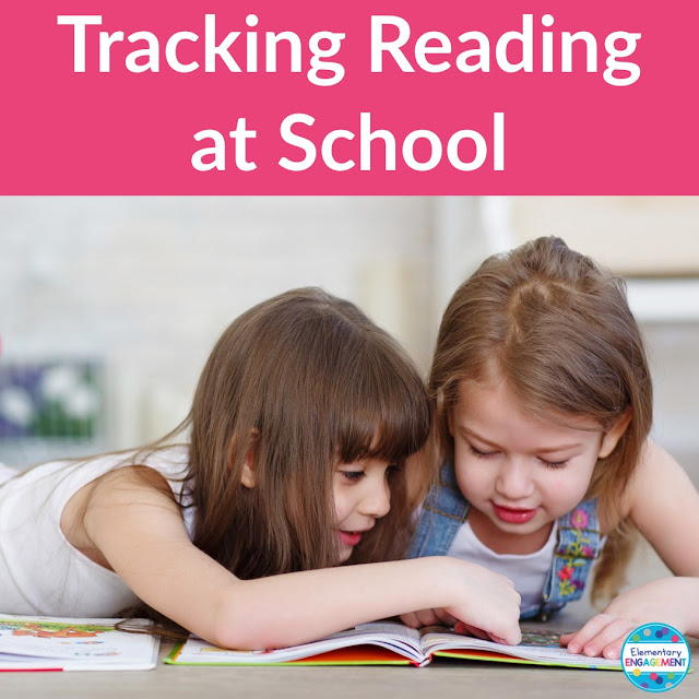 Suggestions on how to track students' reading at school