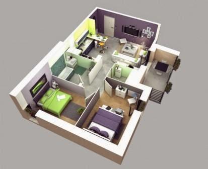 Memaksimalkan Ruangan Pada Rumah Minimalis