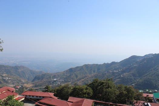Mussoorie mountain