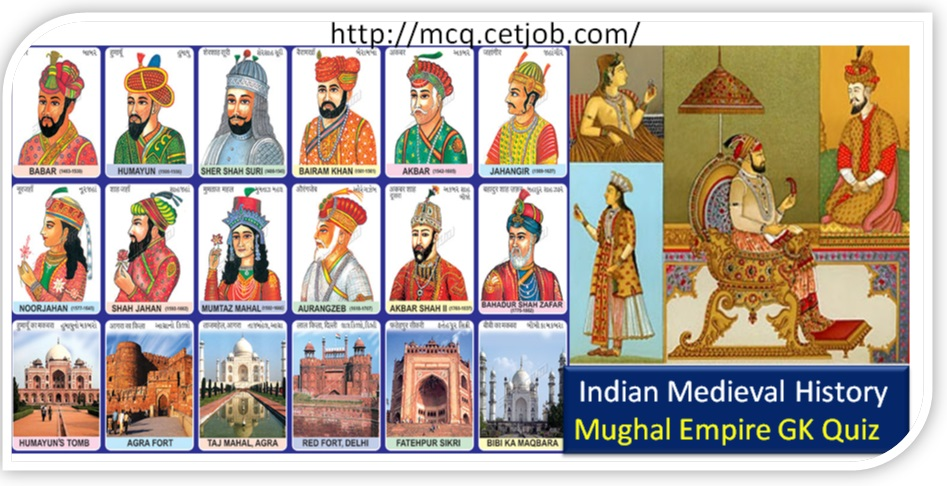 Medieval Indian History Quiz-7 | Medieval History: Mughal