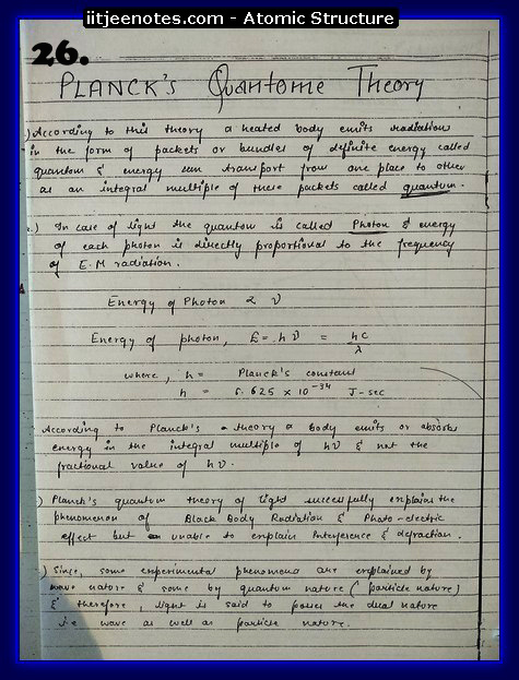 Atomic Structure Notes9