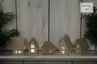 Domki – papierowe lampiony