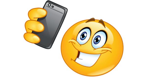 Selfie Smiley  Symbols  Emoticons
