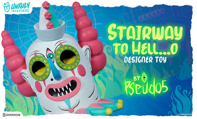 Stairway to Hell…o Vinyl Figure by Pseudo5 x Unruly Industries x Sideshow Collectibles