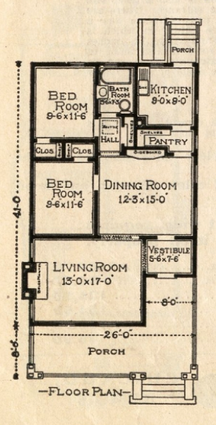 sears 264p182 floor plan