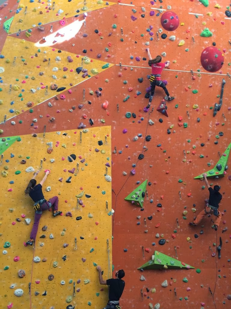 Climbing at Westway Sports Centre spogo
