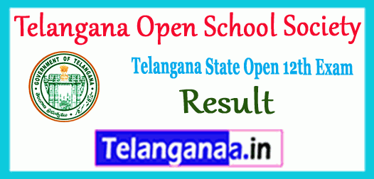TOSS Telangana Open School Society Intermediate Result
