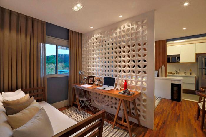 Perfeito lar como separar ambientes for Como separar ambientes