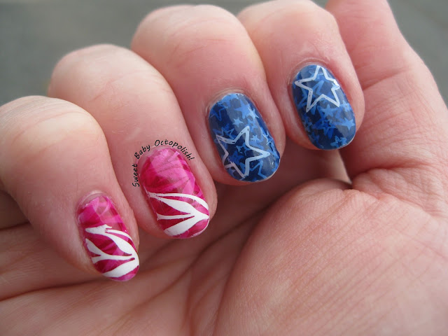 4th of July pond manicure