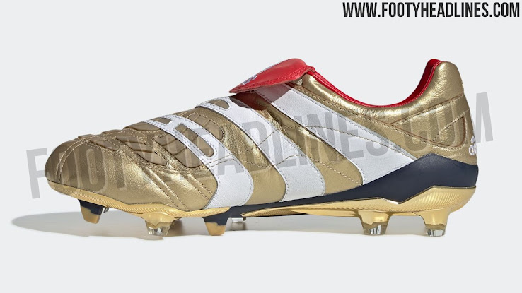 timeless design 54d6f 9b64a Tech-wise, the new Adidas Predator Icon 25 Year Zinedine Zidane boots are  identical to the two Accelerator remakes that dropped last year.
