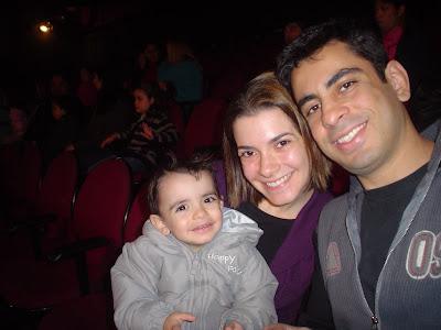Teatro com filhos