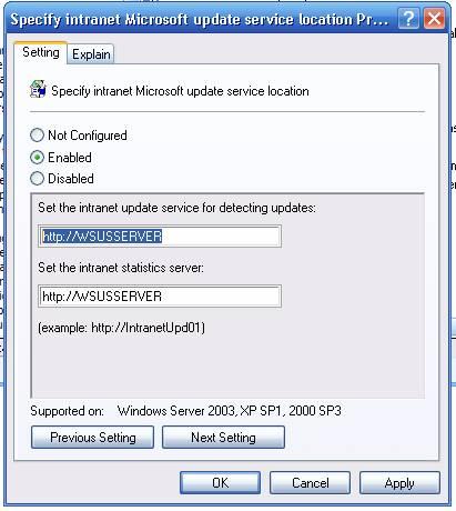 Install WSUS on Windows Server 2008