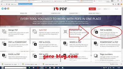 Cara Mengubah File Pdf ke Word Menggunakan ilovepdf dengan Mudah