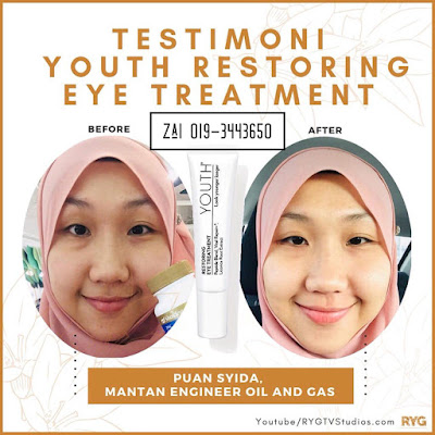 testimoni eye cream youth shaklee