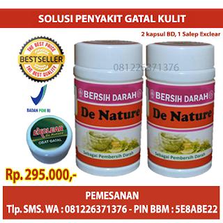 Paket Obat Gatal Eksim De Nature