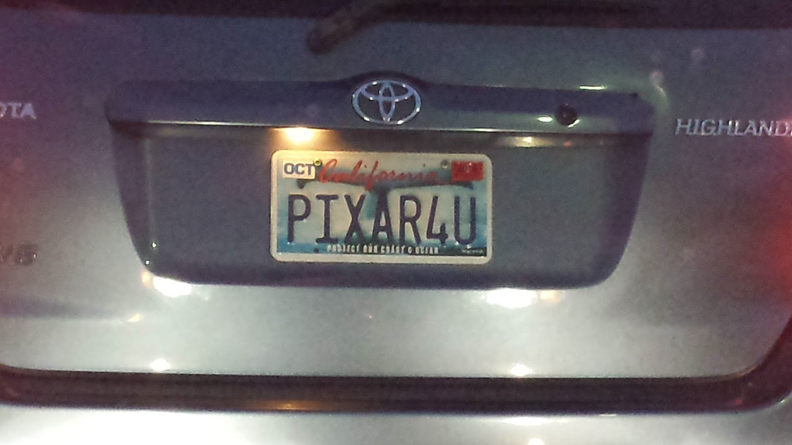 Fountainhead Only In Silicon Valley License Plate