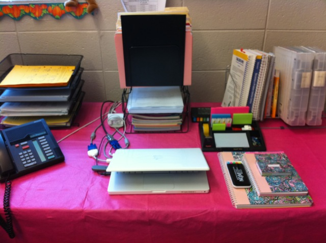Organized Student Desk Middle School Math Rul...