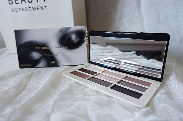 hm beauty, hm beauty department, hm beauty eye colour palette review, smoky nudes, hm smoky nudes palette, hm smoky nudes palette review