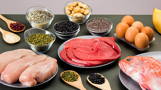 نظام غذائي لكمال الاجسام تضخيم