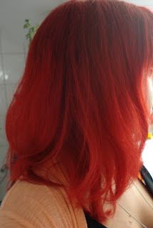 Lucky Diiivas Blog: Haare knallrot färben ohne vorher zu