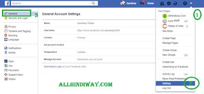 Facebook Se id / Account  Delete ya deactivate Kaise Kare