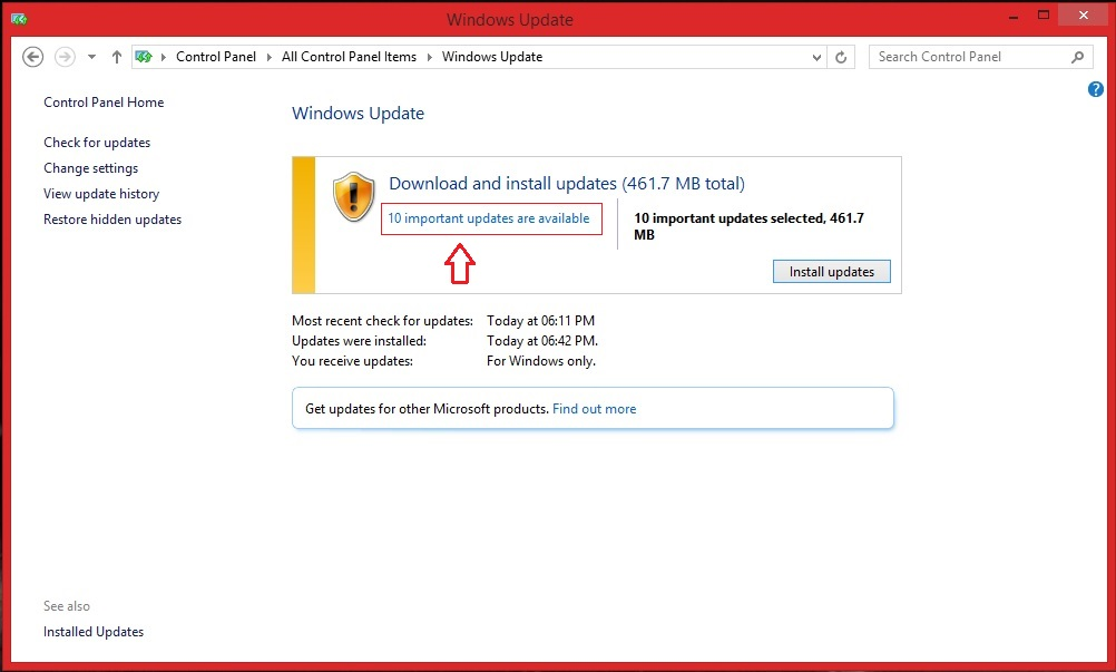 how to stop installation of windows update