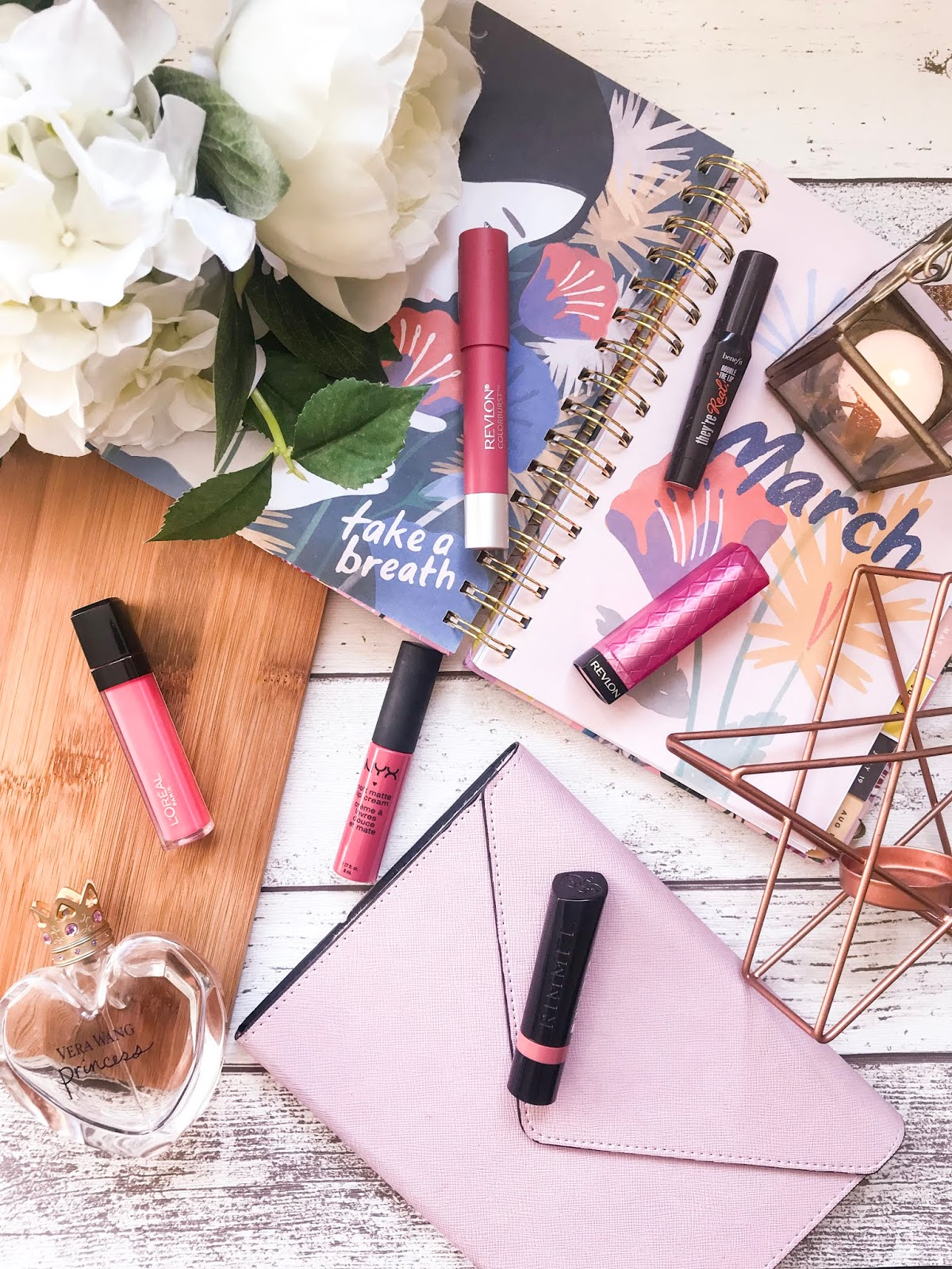 pink lip products perfect for spring