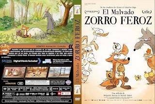 CARATULA EL MALVADO ZORRO FEROZ - LE GRAND MECHANT RENARD ET AUTRES CONTES - 2018