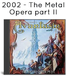 2002 - The Metal Opera part II
