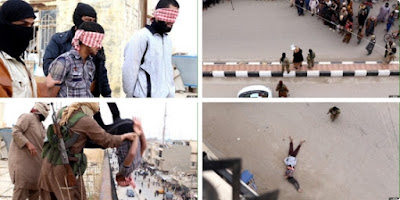 Iraq: ISIS militants execute 2 gay men accused of being gay.