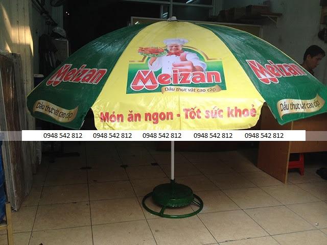 Dù quảng cáo ngoài trời dầu ăn Mezan