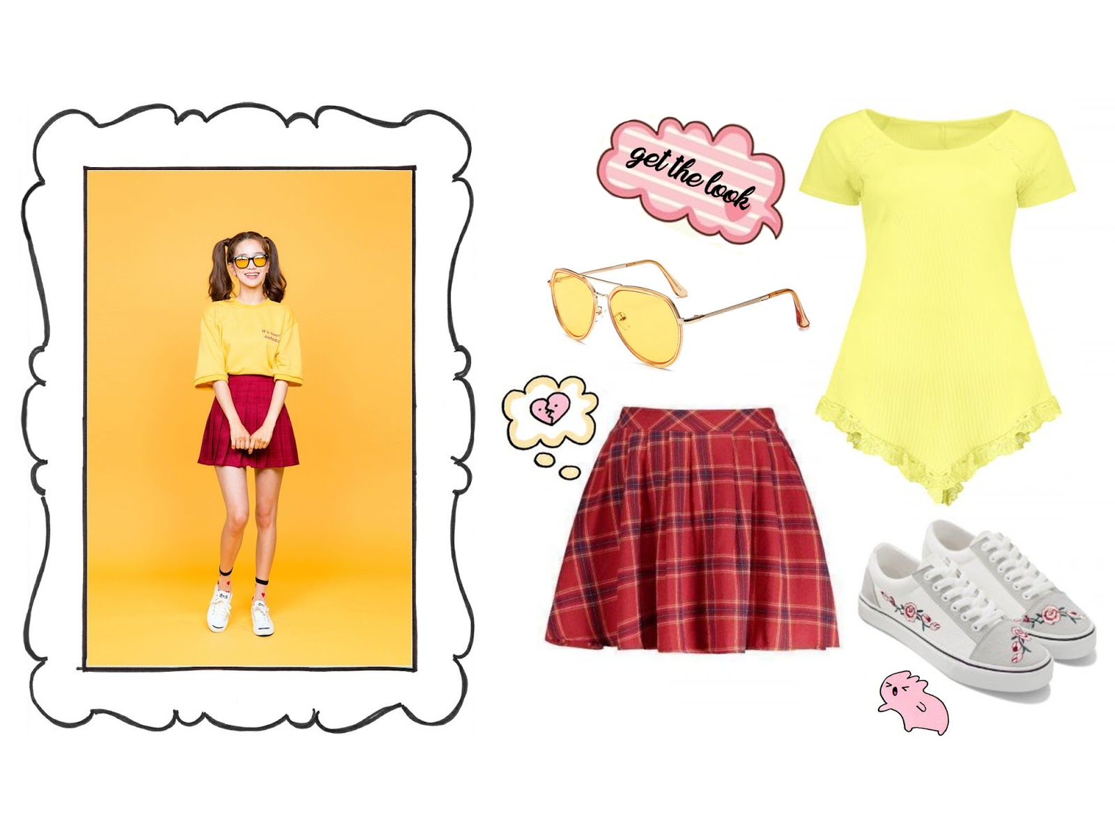 k-fashion collage