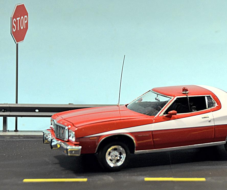 Starsky And Hutch Car: Scale Model News: STARSKY AND HUTCH 'STRIPED TOMATO' FORD