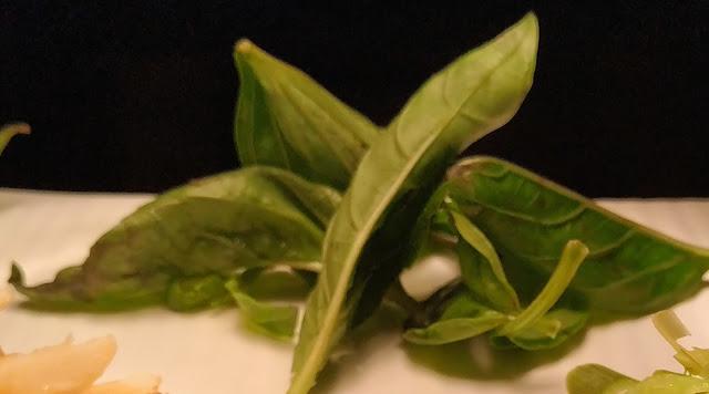 Dinner ideas fresh Basil leafs
