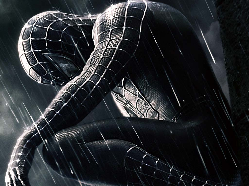 Pixar perfect spider man 3 - Black and white spiderman wallpaper ...