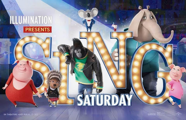 SING Saturday - Attend a Free Screening Thanksgiving Weekend  via  www.productreviewmom.com