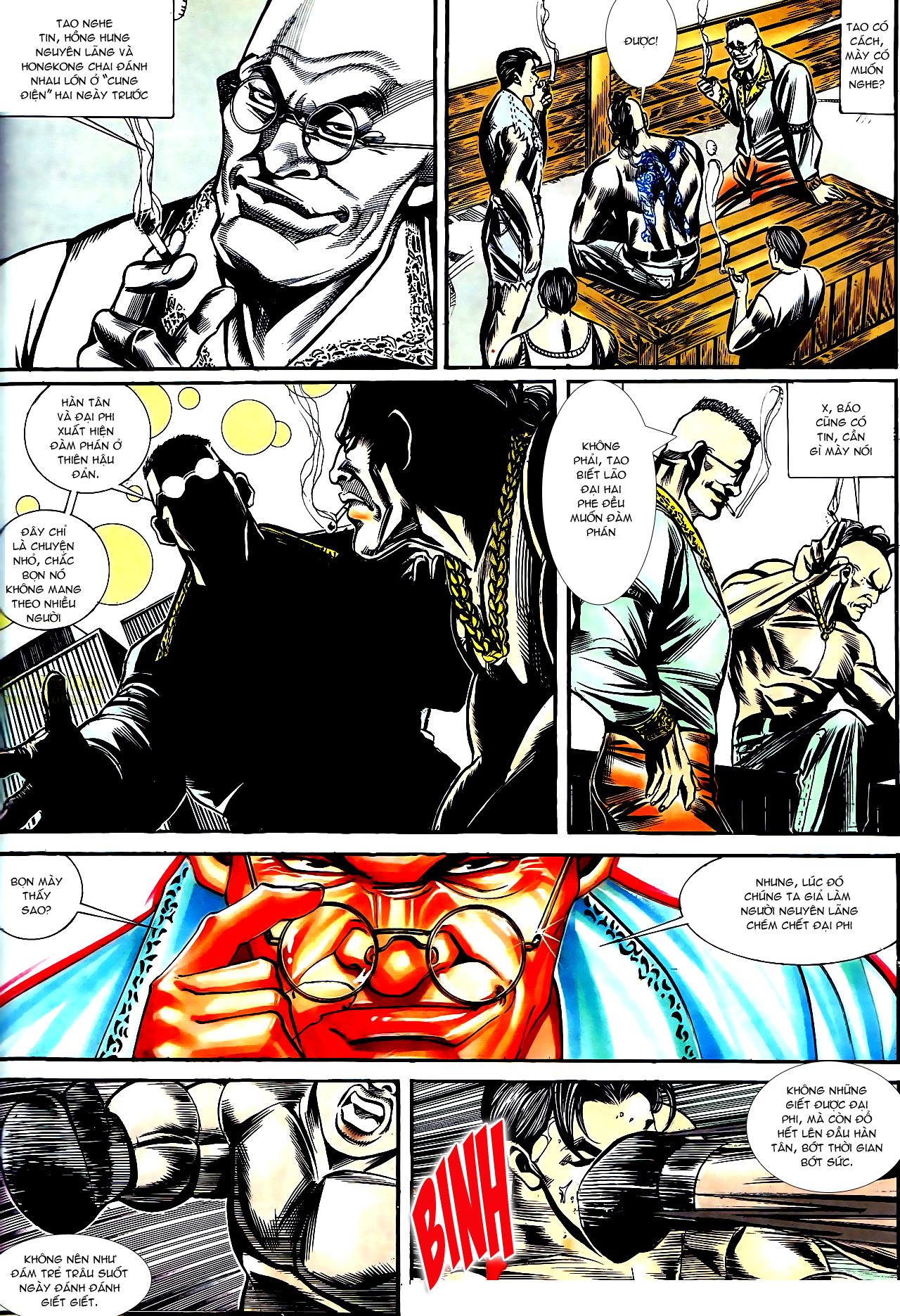 Người Trong Giang Hồ chapter 158: bang phái thanh trừng trang 24