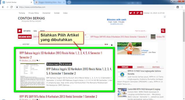 Panduan Download File Di Contohberkas.com