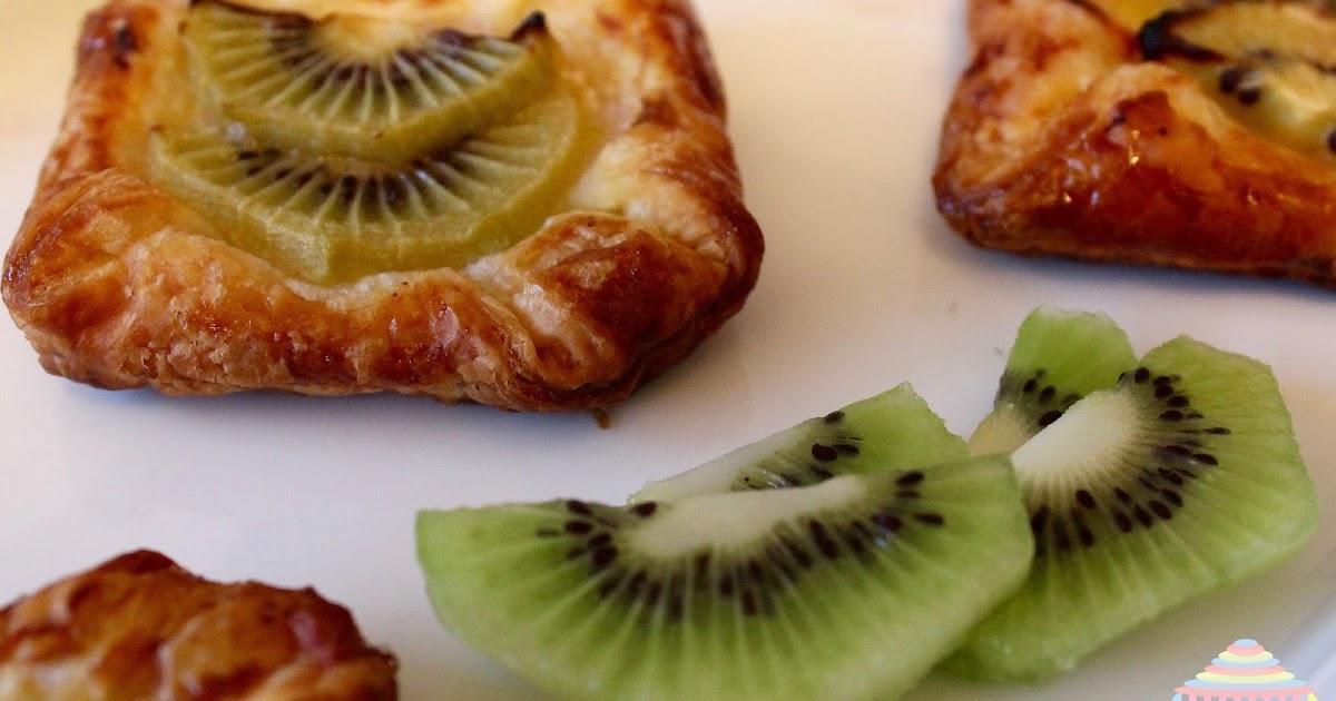 Tartitas de hojaldre y fruta (sin gluten ni lactosa)