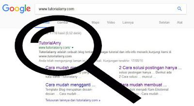 Cara Paling Simple Cek Artikel Sudah Terindeks Google