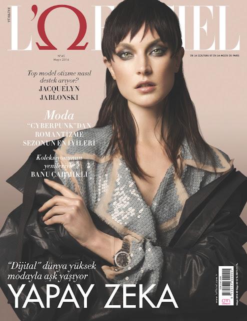 Fashion Model, @ Jacquelyn Jablonski - L'Officiel Turkey, May 2016