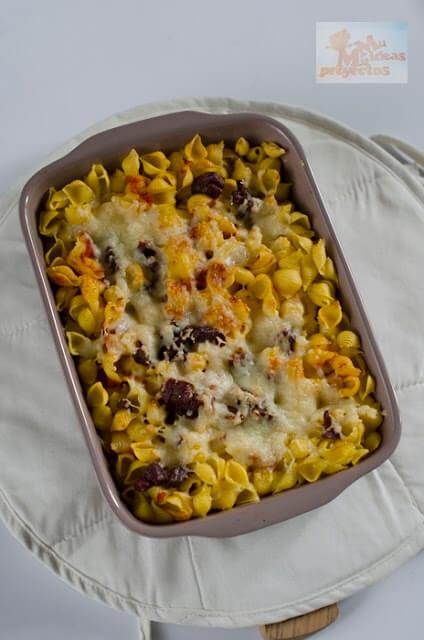 Como preparar un plato de pasta r pido al horno sin Plato rapido y facil de preparar
