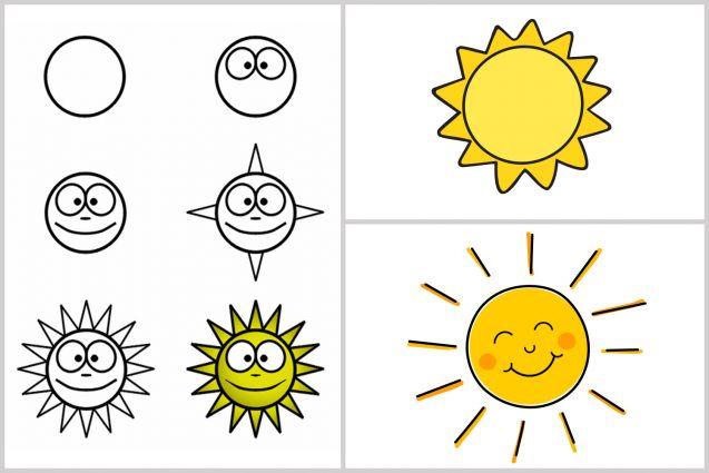 20 dessins faciles pour apprendre dessiner aux enfants made home - Dessin facile pour enfant ...